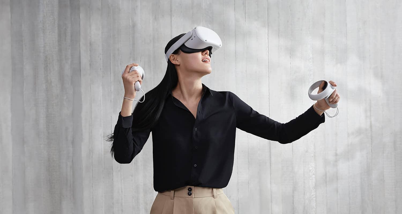 Realtà virtuale con il Visore Oculus Quest 2
